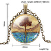 Image of Fashionable Tree of Life Pendant Necklace - Topmazing
