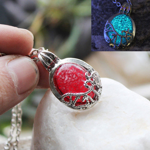 Katherine Luminous Moonstone Pendant Necklace