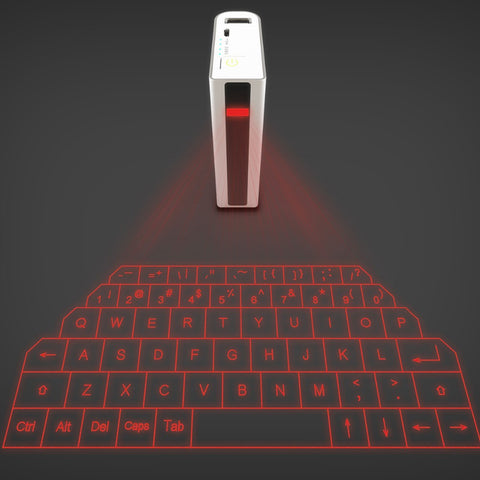 Laser Projection Virtual Keyboard Power Bank
