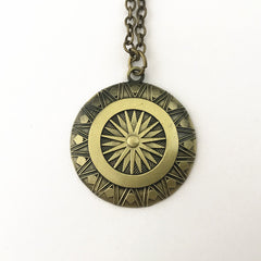 Wonder Woman Shield Pendant Necklace - Topmazing