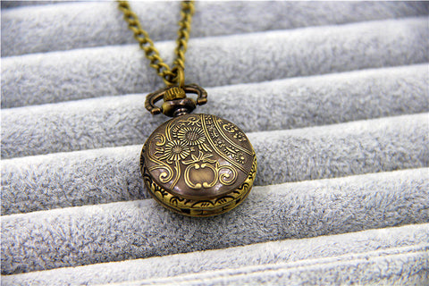 Catching Fire Pocket Watch - Topmazing
