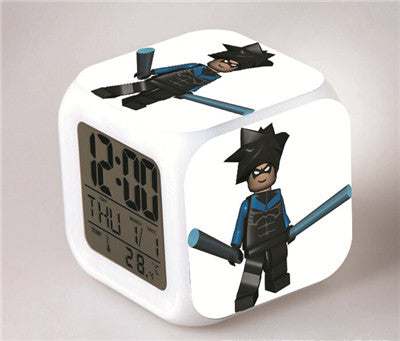 Superhero LED Alarm Clock - Topmazing