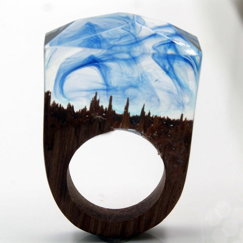 Unique Art Of Flow Handmade Ring