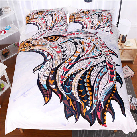 Bohemia Eagle Duvet Set - Topmazing