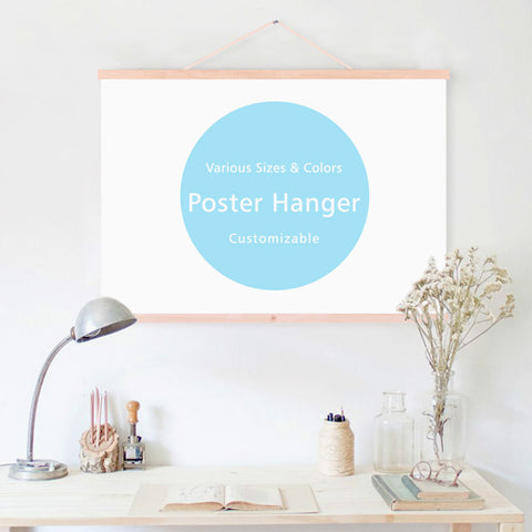 Magnetic DIY Canvas Hanger