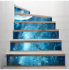 Image of 3D Moon Forest Stairway Stickers (6pcs) - Topmazing