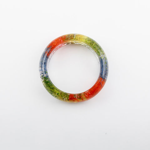 Unique Real Colorful Flower Handmade Bracelet