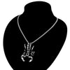 Image of Vintage Scorpion Pendant Necklace