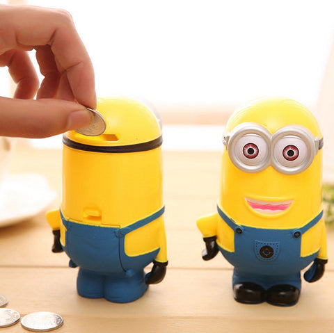 Cute Minion Piggy Bank - Topmazing