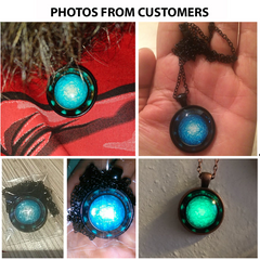 Stargate Portal Glowing Necklace