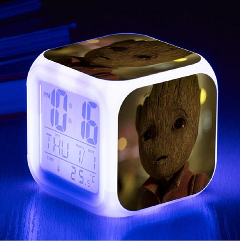 Guardians of the Galaxy Digital Clock