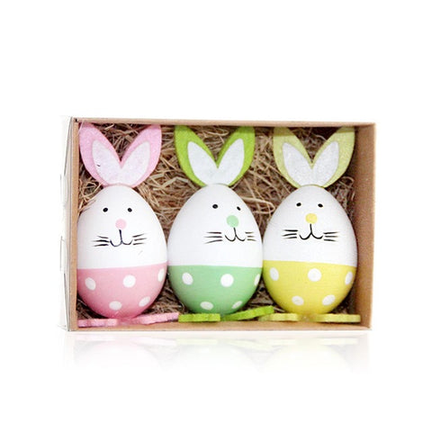 Easter Eggs Rabbit Decoration