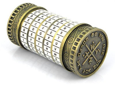 Cryptex Lock - Topmazing