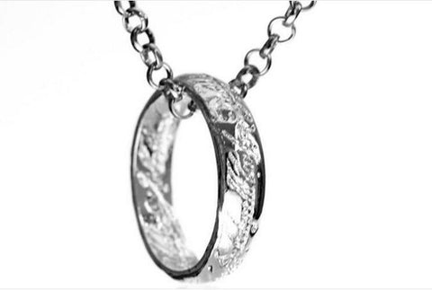 One Ring Pendant Necklace