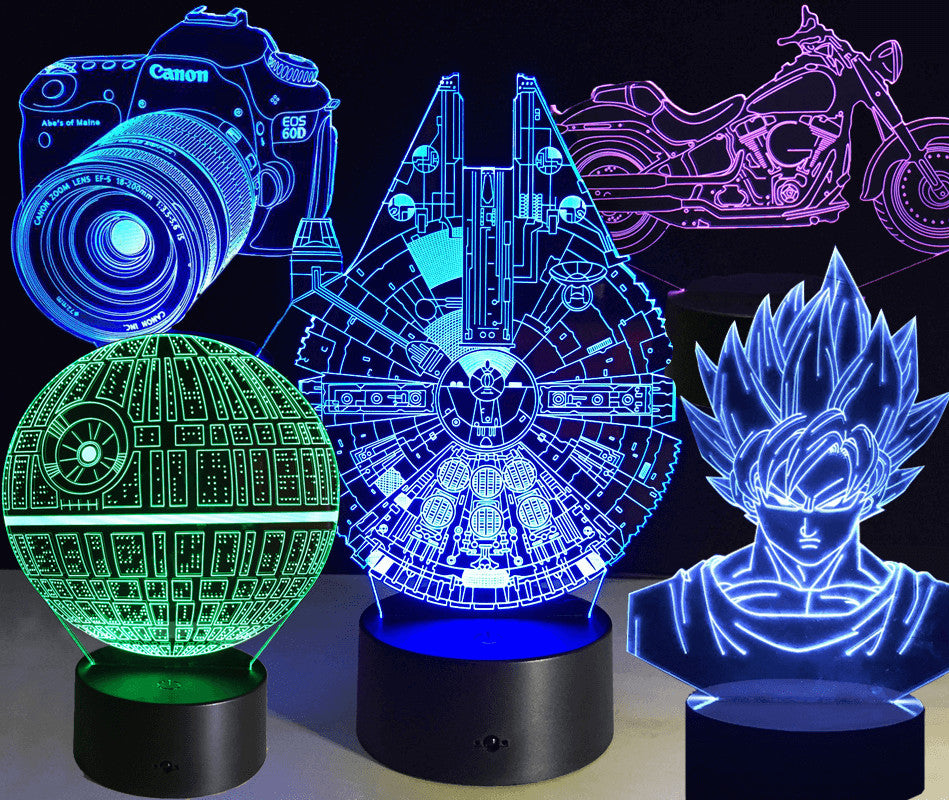 3D Led Light Collection
