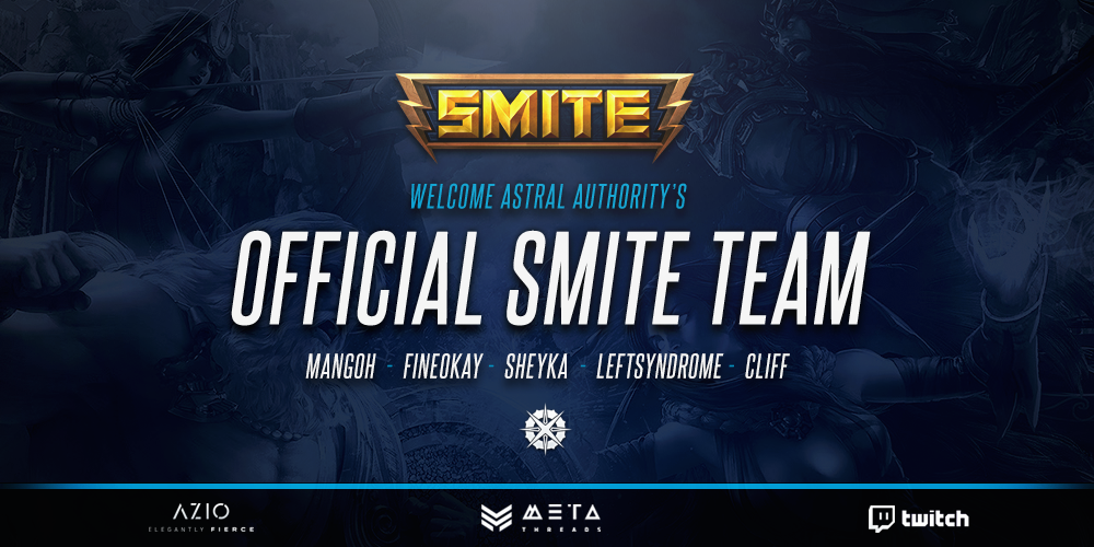 Astral Authority Acquires Smite Team! (Salsa Squadron)