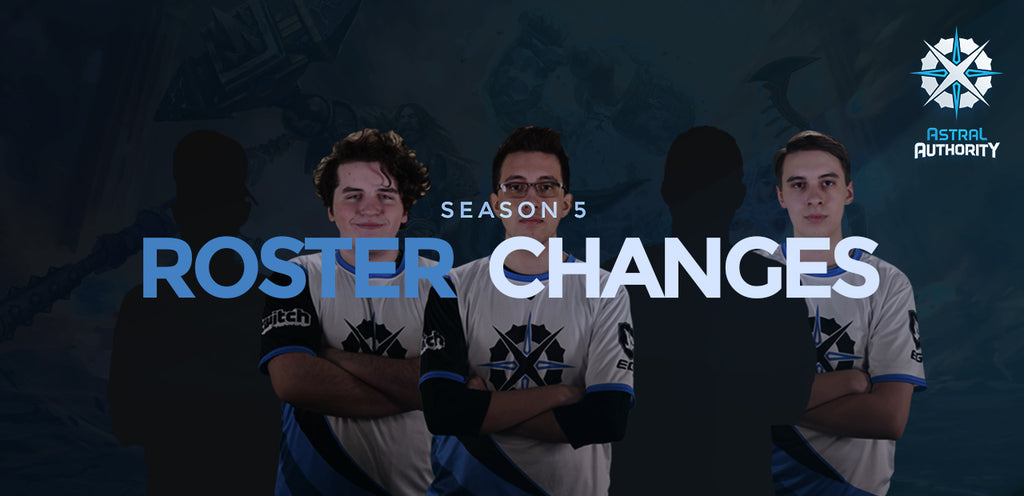 Astral Authority SMITE Season 5 Roster Changes