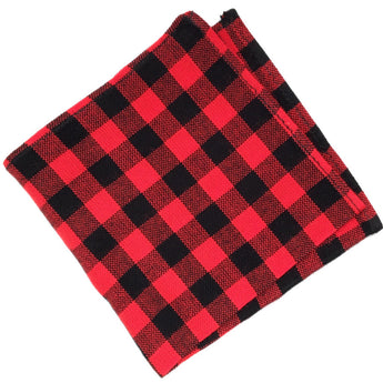 checkered pocket square