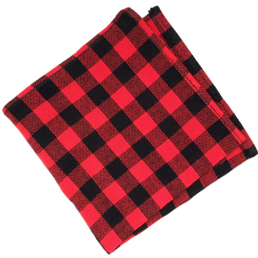 Lumberjack Flannel - FAIR+SQUARE POCKET SQUARES