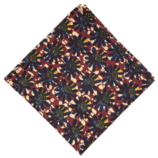 Funky Flower - FAIR+SQUARE POCKET SQUARES