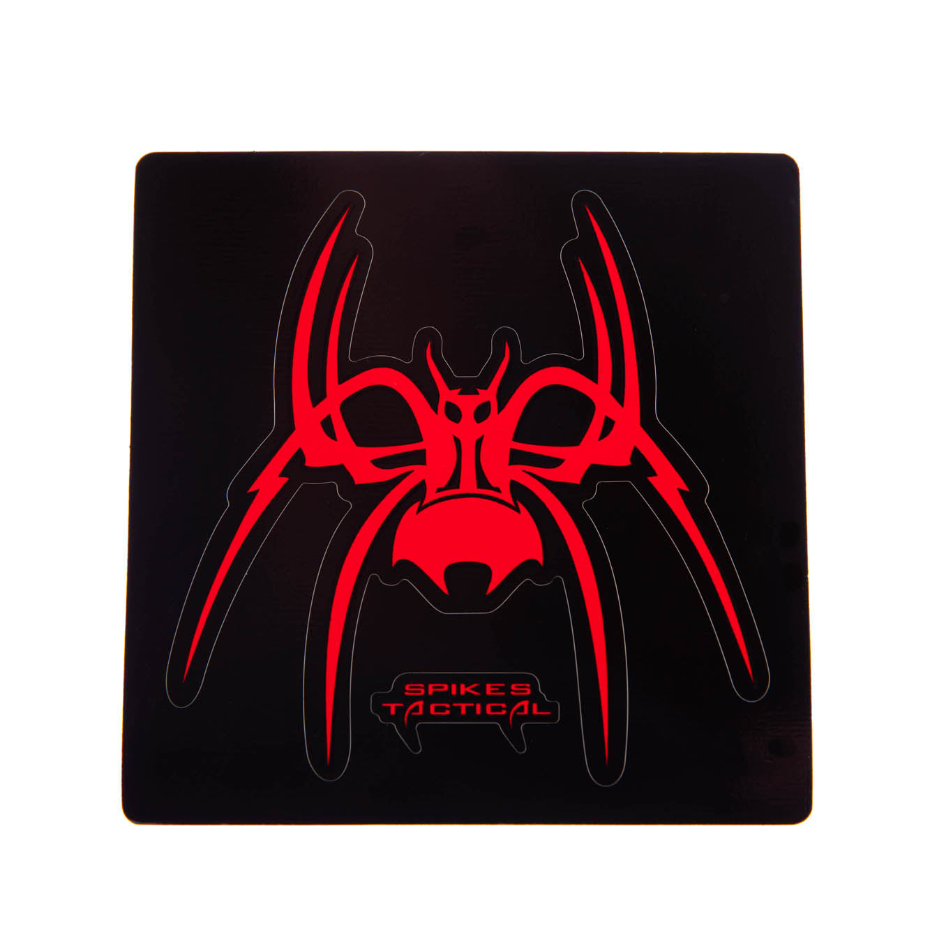 Spider Peel and Stick Decal, 3 Pack (Red, White, and Blue)