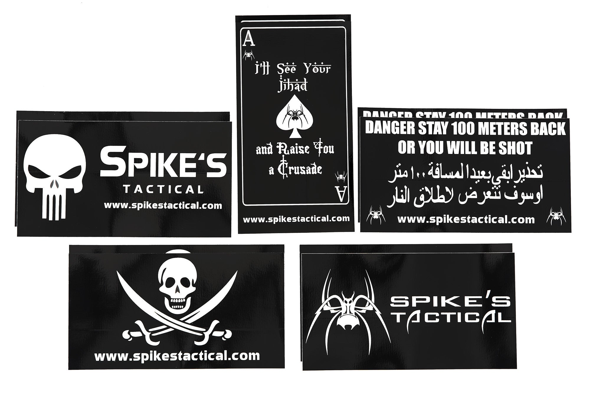Spikes Tactical Sticker Set