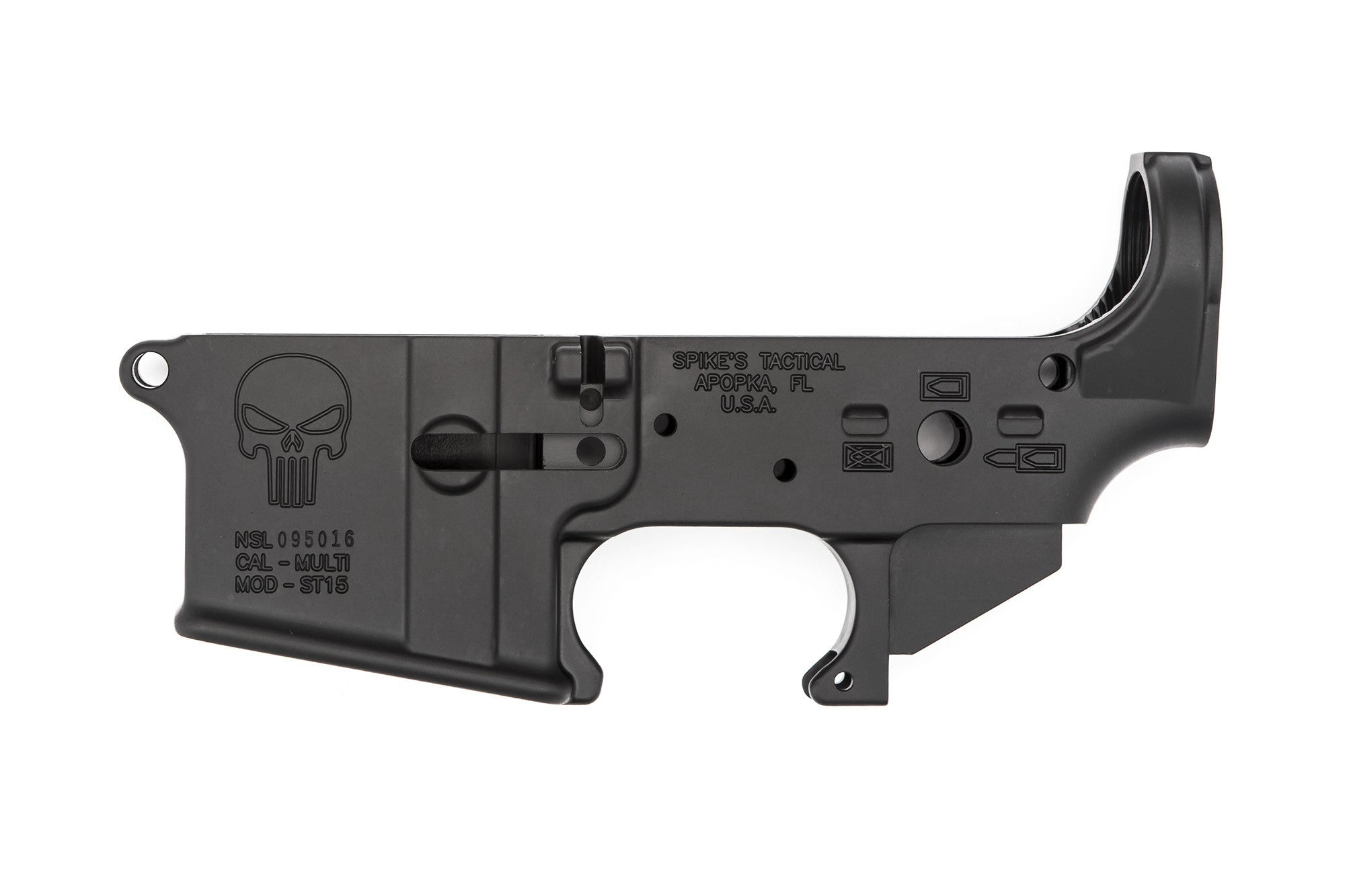 Punisher Stripped Lower Receiver