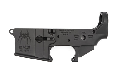 Spider Stripped Lower Receiver (Fire/Safe)