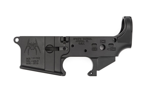 Spider Stripped Lower Receiver (Bullet Markings)