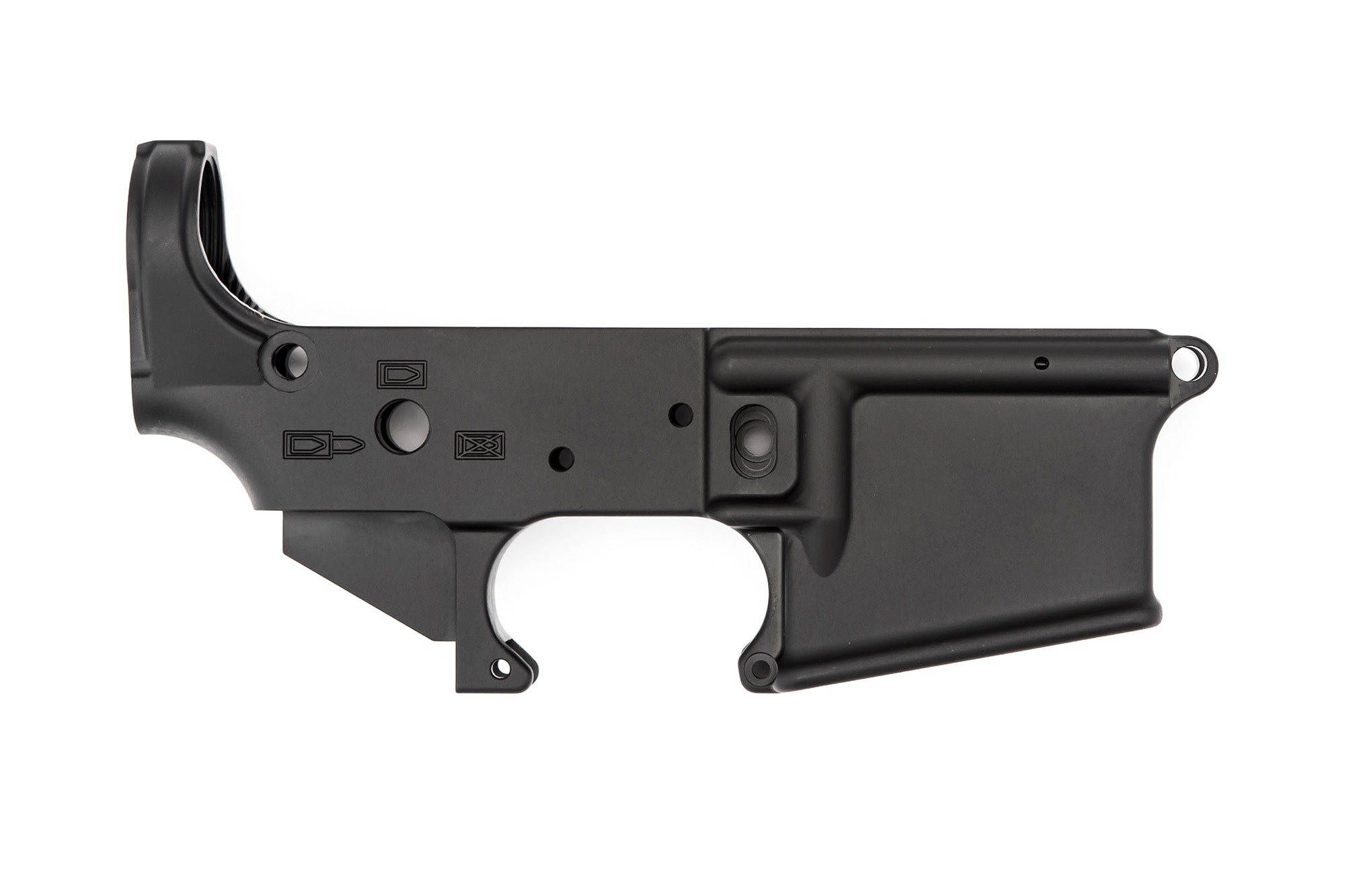 No Logo Stripped Lower Receiver