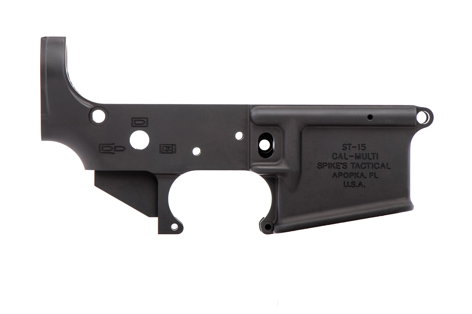No Logo II Stripped Lower Receiver