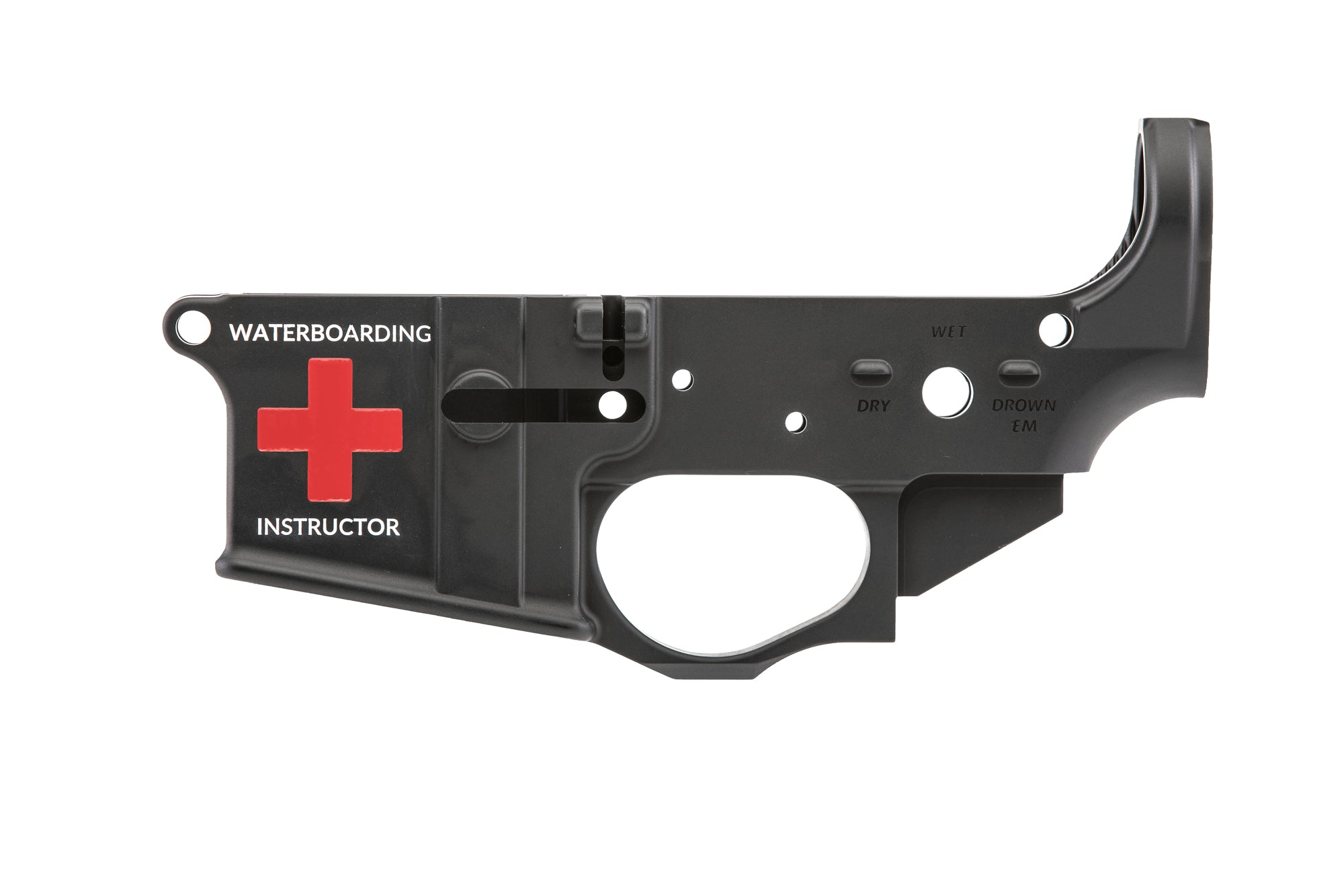 Waterboarding Instructor Lower Receiver