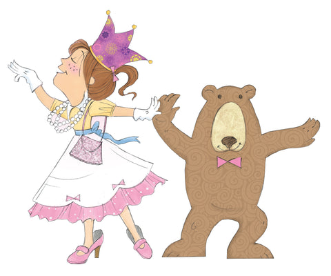 Princess Eliza Dancing with Bear