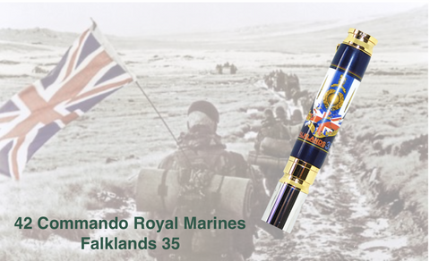 FALKLANDS 35 / 42 COMMANDO BULLET PEN - Regimental Pens