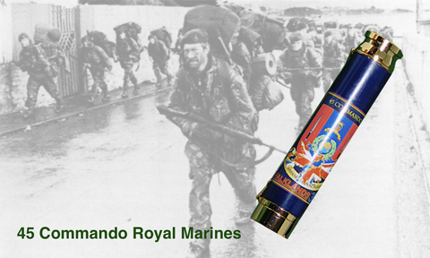 FALKLANDS 35 / 45 COMMANDO BULLET PEN - Regimental Pens