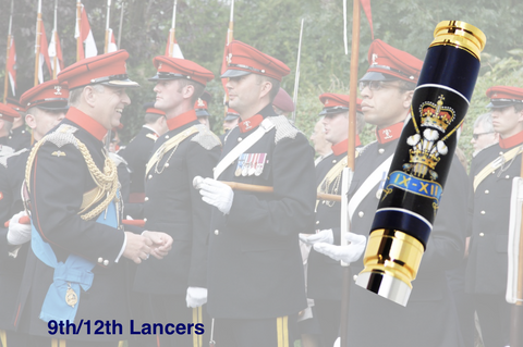 The 9th/12th Royal Lancers - Regimental Pens