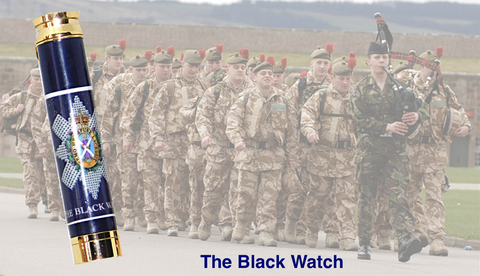 The Black Watch - Regimental Pens