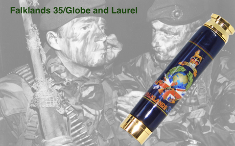 Falklands 35 / Globe & Laurel Bullet pen - Regimental Pens