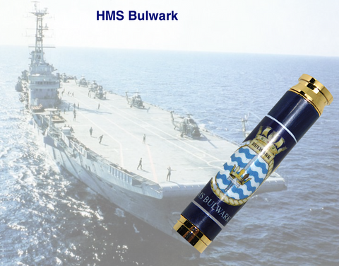 HMS Bulwark 7.62mm Bullet pen - Regimental Pens