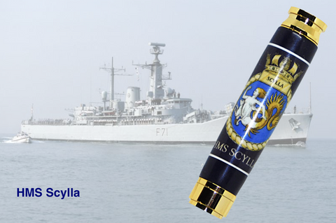 HMS Scylla 7.62mm Bullet Pen - Regimental Pens