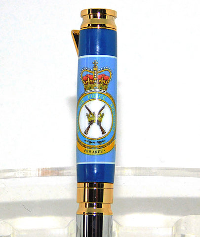 RAF Regiment 7.62mm Bullet pens - Regimental Pens