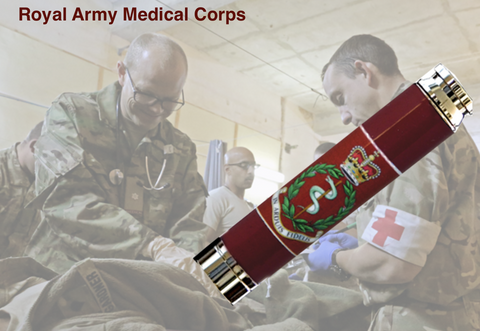 Royal Army Medical Corps Bullet Pen - Regimental Pens