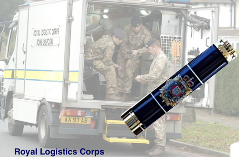 Royal Logistics Corps Bullet Pen - Regimental Pens