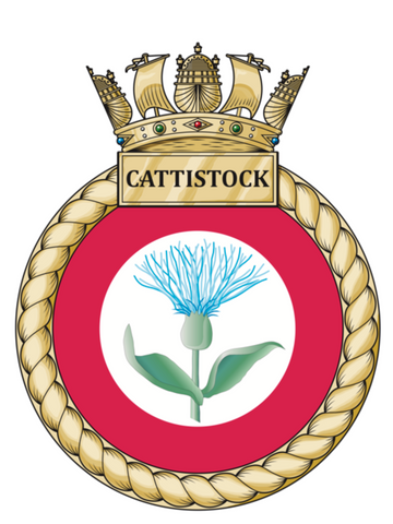 7.62mm Bullet pen for HMS Cattistock