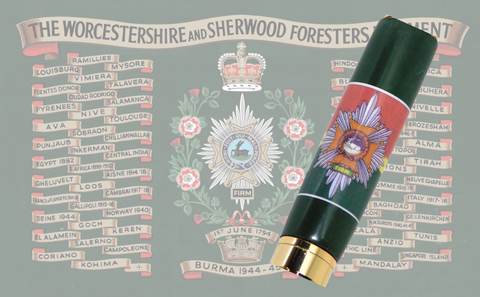 Worcestershire and Sherwood Forresters - Regimental Pens