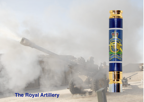 Royal Artillery 7.62mm bullet pen - Regimental Pens