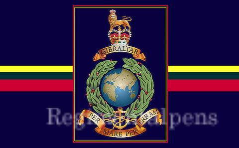 Royal Marines Globe and Laurel Updated Insignia 7.62mm Bullet Pen - Regimental Pens