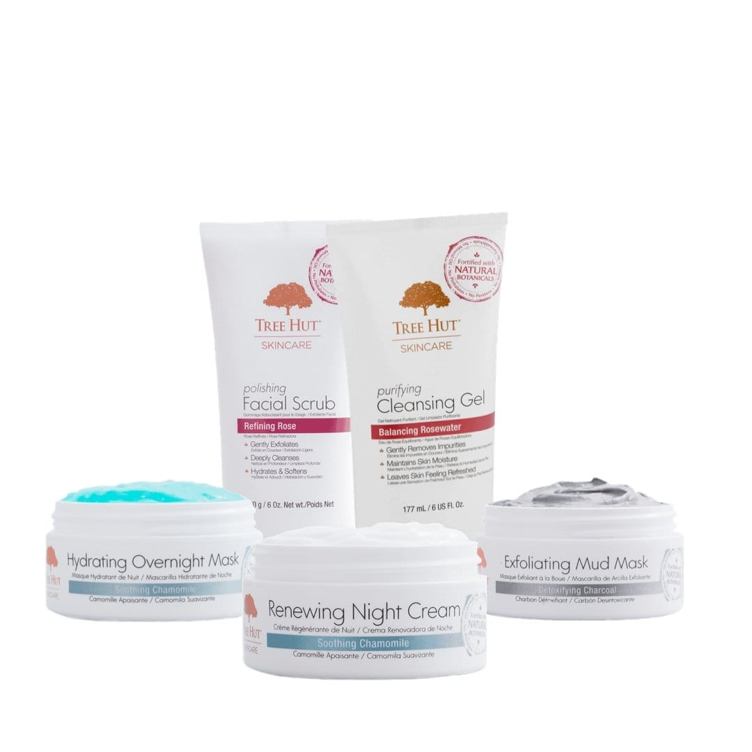 Set Completo Cuidado Facial Tree Hut - LVXO.com