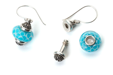 Whimsy 'Elizabeth' Interchangeable Bead Earrings