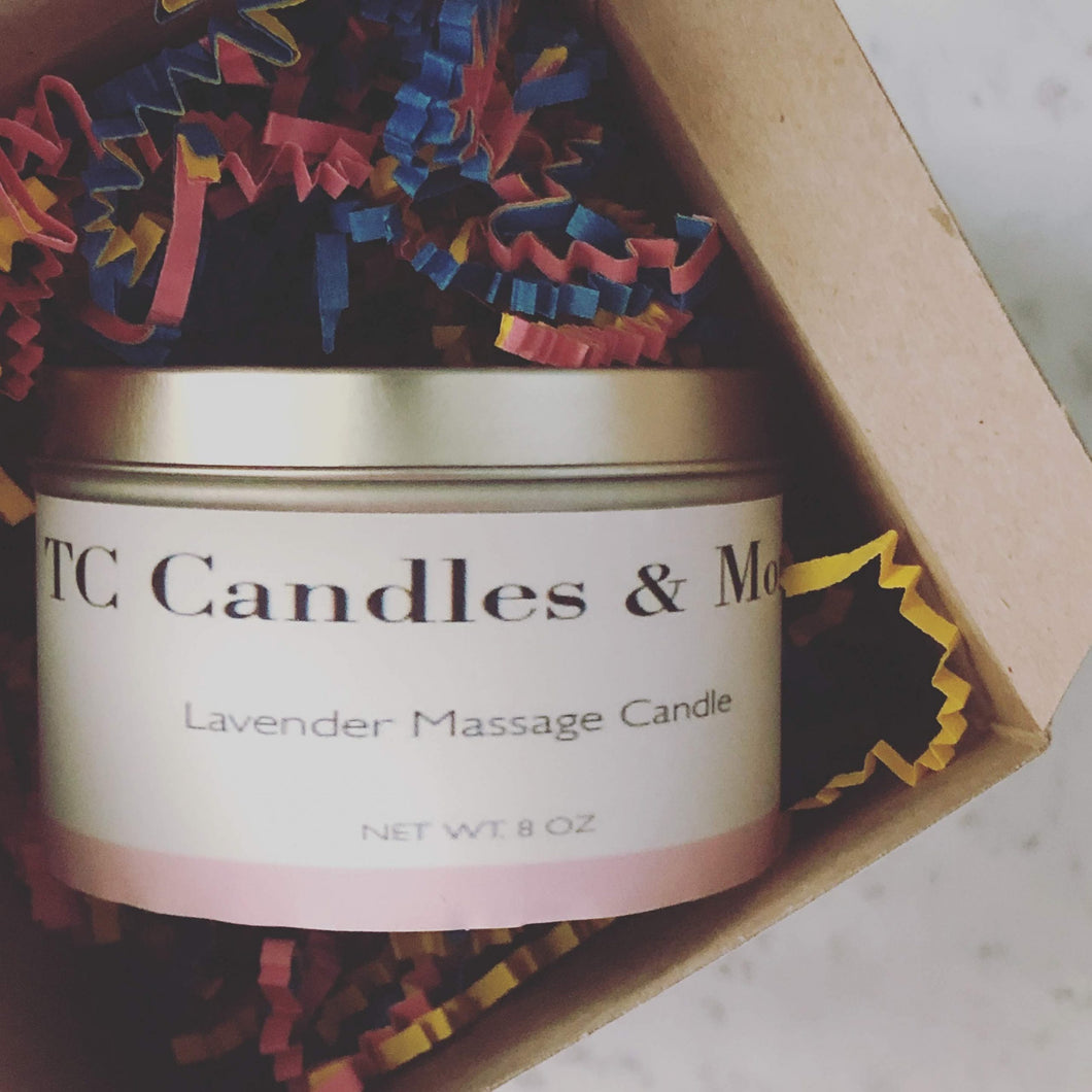 Lavender Massage Candle - TC Candles & More ,  - TC Candles & More ,